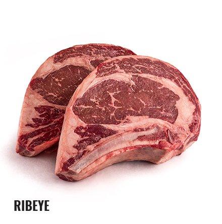 Raw ribeye